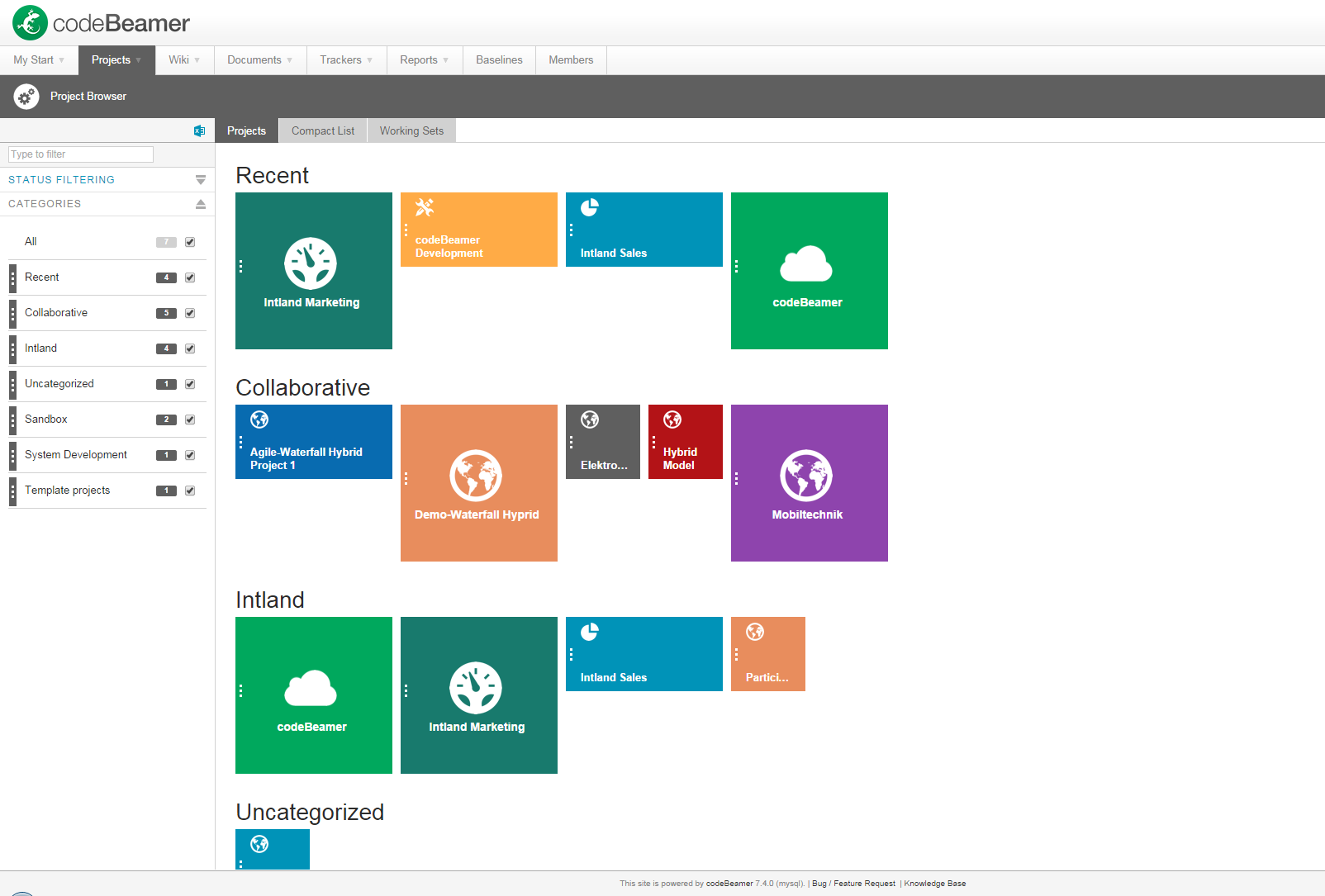 project_browser Efficient Project Management with the Project Browser project management