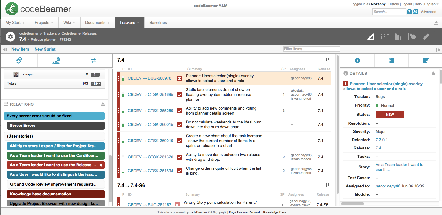 project_planner_filtered_user-stories_tasks How To Increase Transparency in Your Agile Planning Processes? Agile