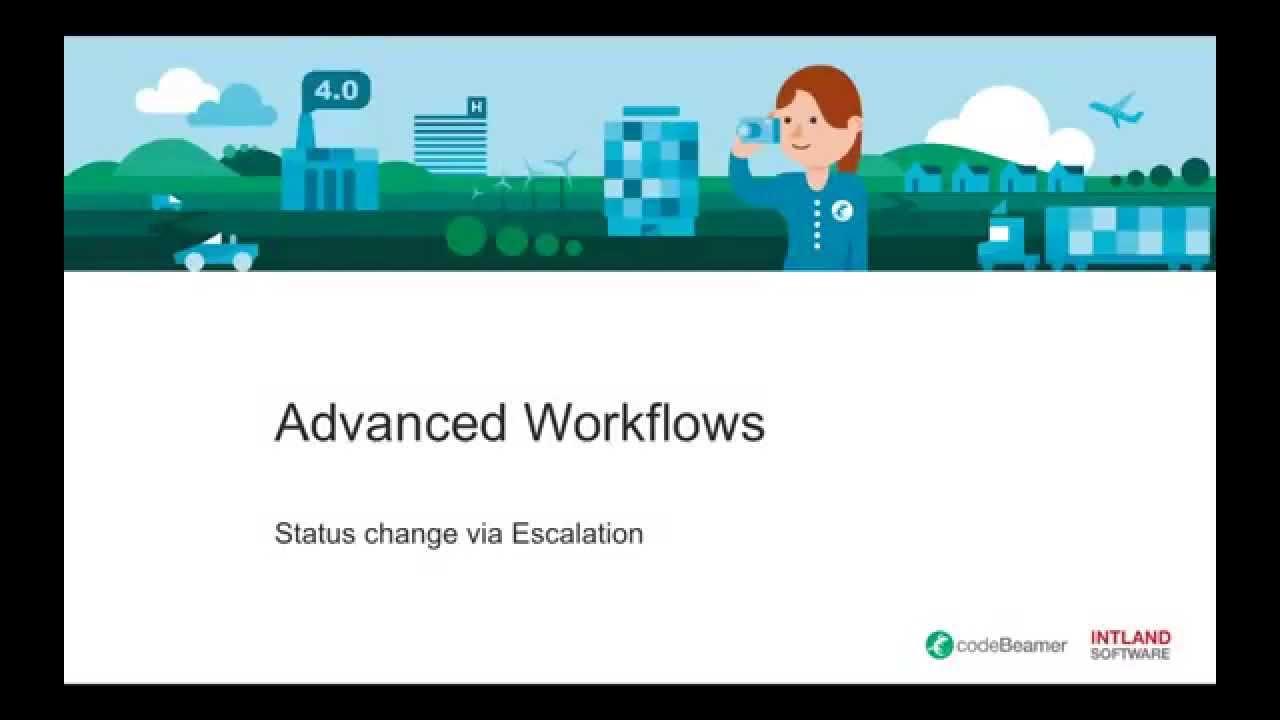 Status Transition via Escalation Rules