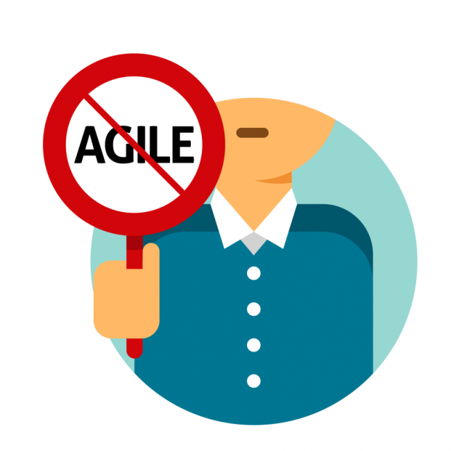 Why does managers fear from adopting Agile?