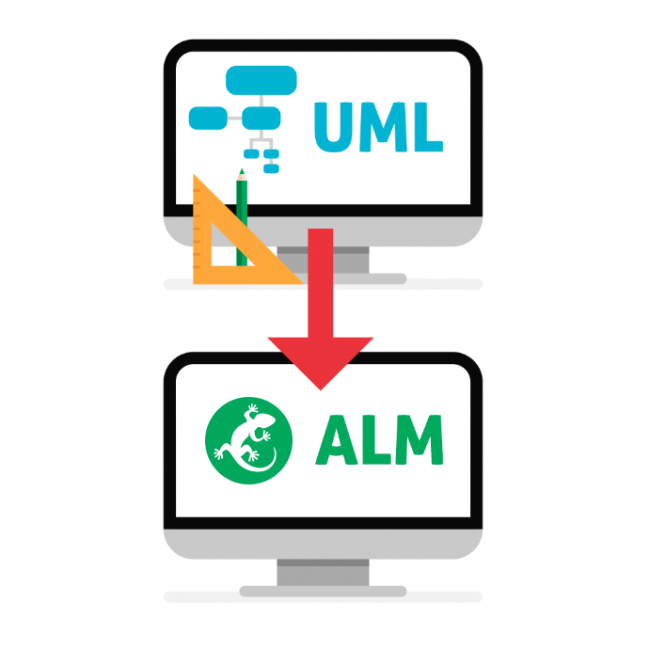 Connecting UML and ALM in Software Engineering
