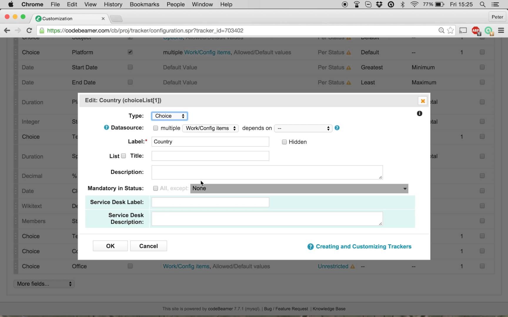 How to create dynamic pick-list fields