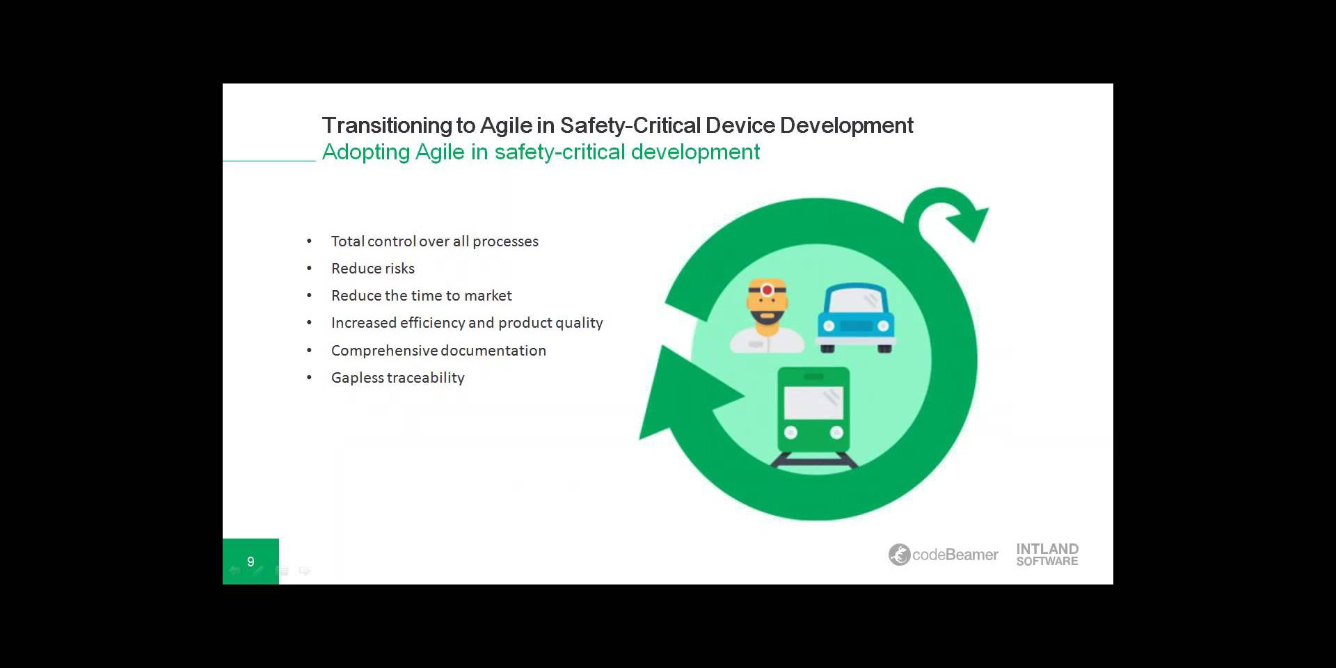 swatch Transitioning to Agile in Safety-Critical Device Development webinar recording