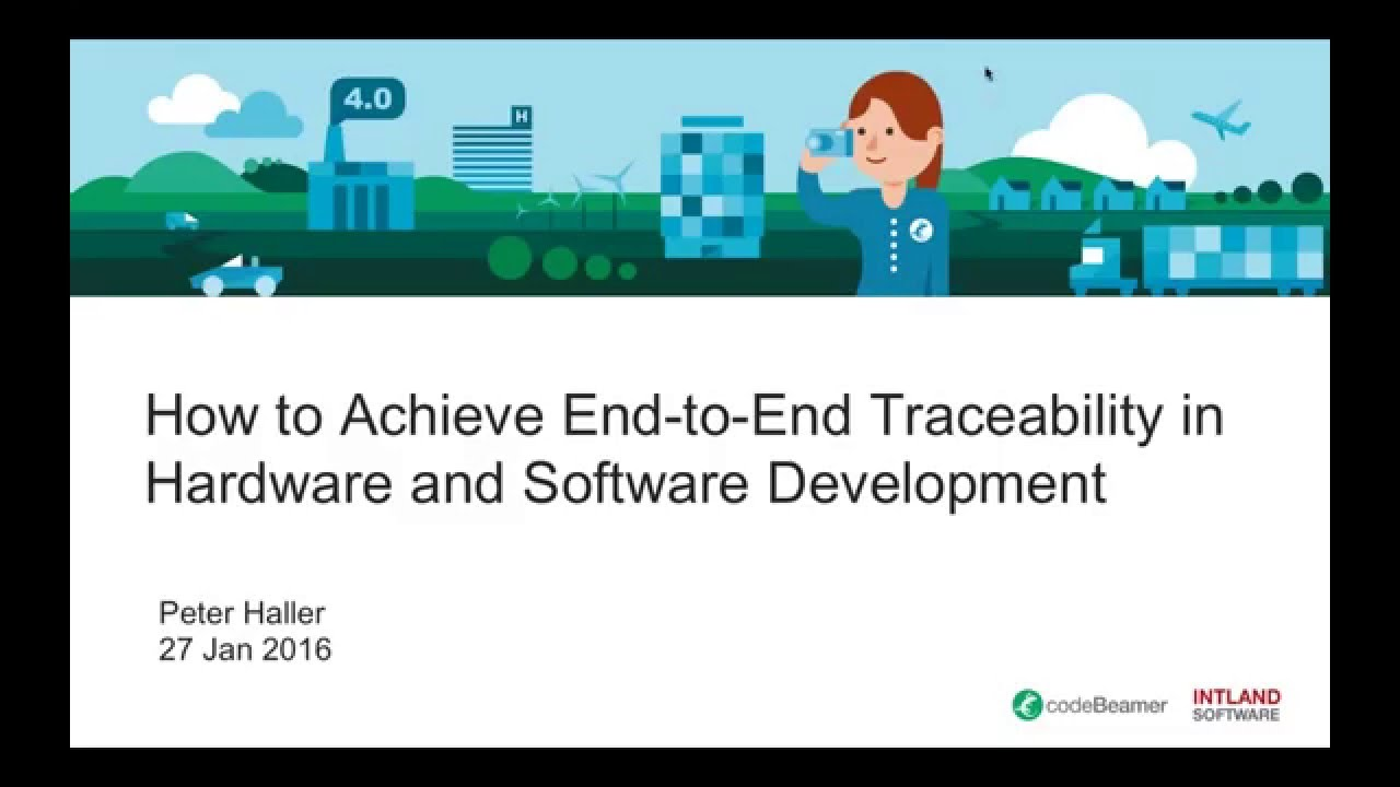 How to Achieve Gapless End-to-End Traceability in Hardware and Software Development?