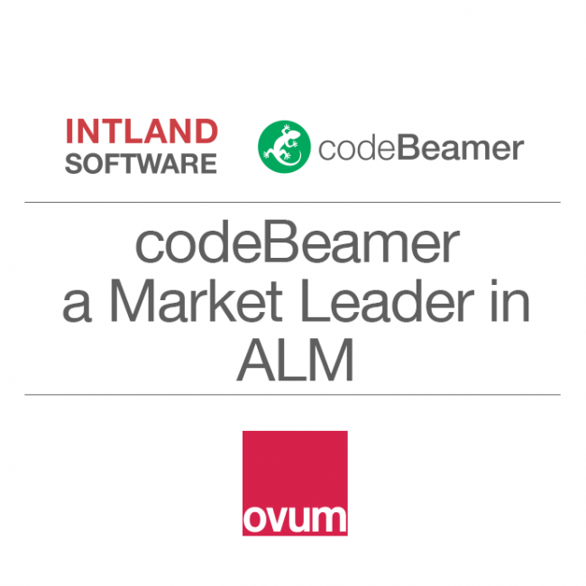 Intland Software's codeBeamer ALM Recognized as Market Leader in Ovum's Decision Matrix ALM Report