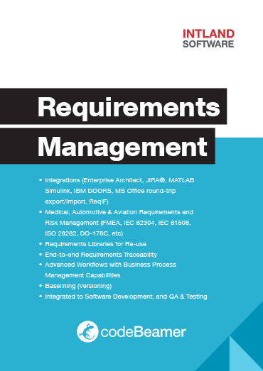 Agile Requirements Management | codeBeamer ALM