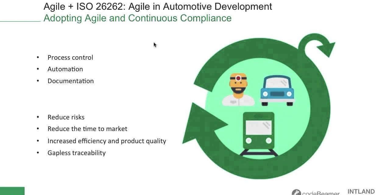 swatch Agile + ISO 26262: Using Agile in Automotive Development webinar recording