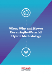 When, Why and How to Use an Agile-Waterfall Hybrid Methodology