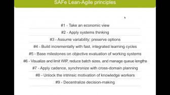 SAFe 4.0: Implementing Enterprise Agile Using the Scaled Agile Framework – with Michael Stump of Scaled Agile Inc.