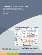SAFe® 4.0 Introduction – Overview of the Scaled Agile Framework® for Lean Software and Systems Engineering