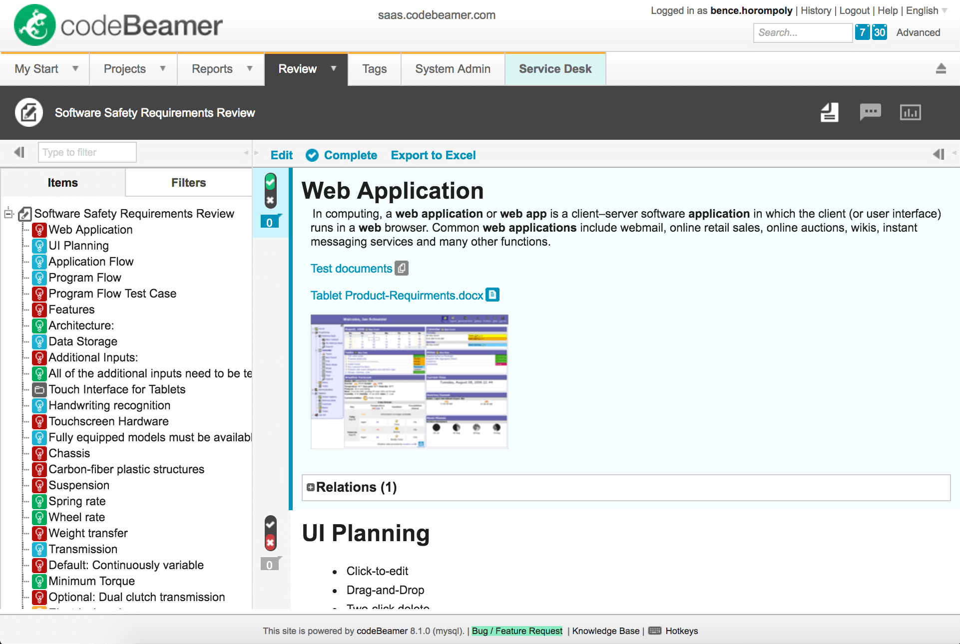 8-1-review-2 codeBeamer ALM 8.1 is Released!