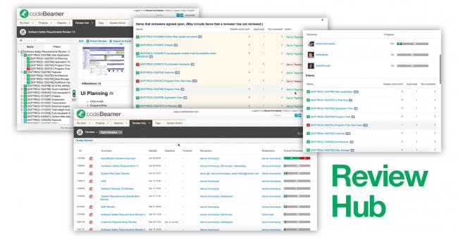 Review Hub - codeBeamer ALM 8.2