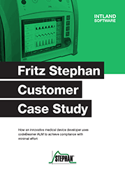 fritz-stephan-customer-case-study Fritz Stephan Medical Case Study: Compliance in an Exceptionally Highly Regulated Environment E-book