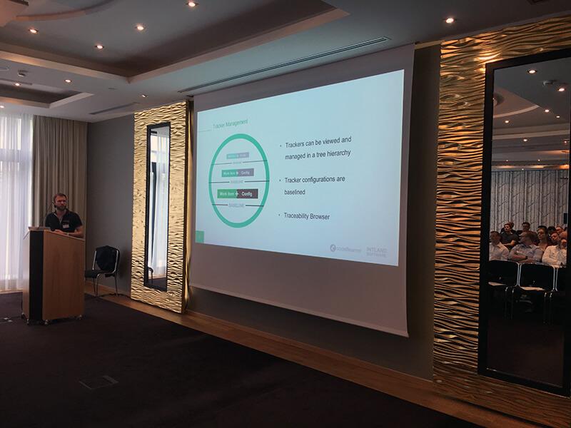 codeBeamer ALM tracker management presentation, Intland Software User Conference 2017