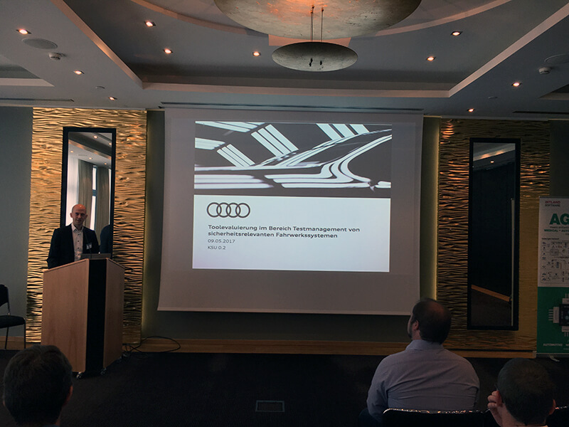 Audi ISO 16949/SPICE presentation, Intland Software User Conference 2017