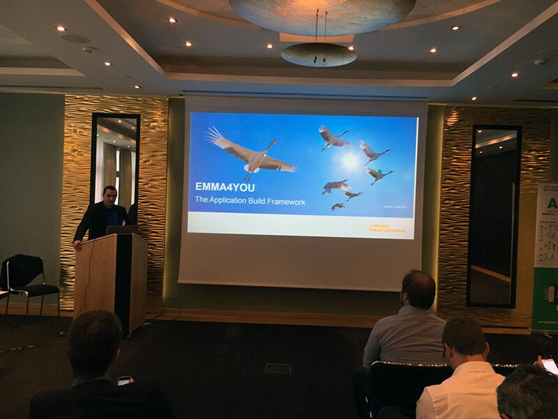 Lufthansa Application Build Framework Presentation at Intland Software User Conference 2017