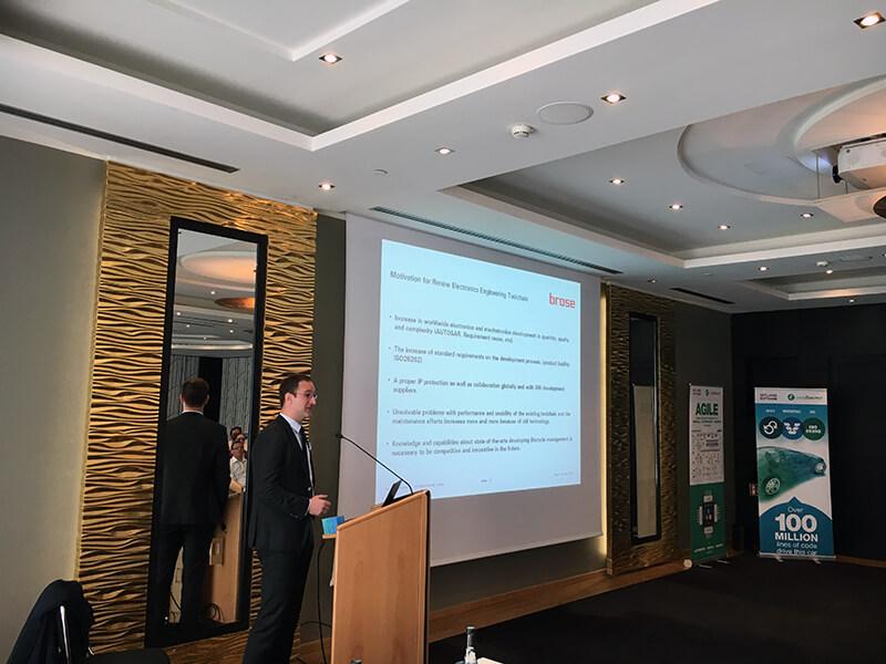 Brose presentation, Intland Software User Conference 2017