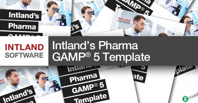Intland's Pharma GAMP® 5 Template
