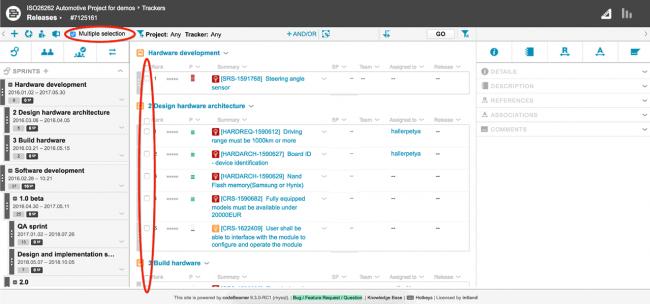 codebeamer 9.3 agile planner