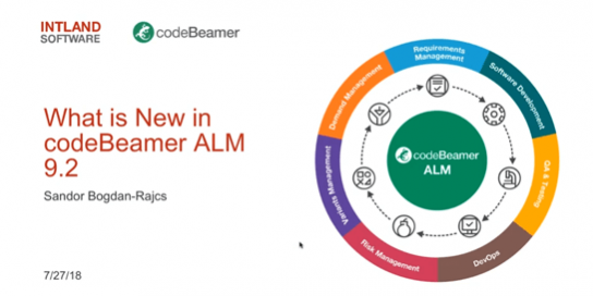swatch What is New in codeBeamer ALM 9.2? webinar recording
