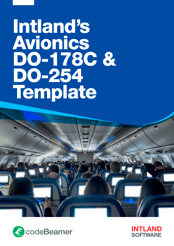 Intlands-Avionics-DO-178C-DO-254-Template-codeBeamer-Intland-Software-1 ALM for Aviation & Defense Systems Development