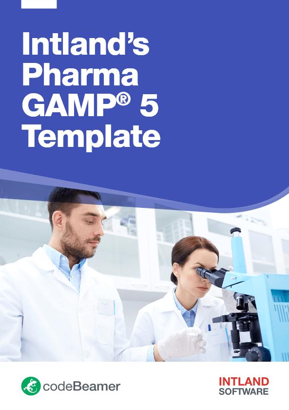 Intlands-Pharma-GAMP5-Template-codeBeamer-Intland-Software ALM for Life Sciences & Pharma Development