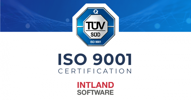 Intland Software Announces ISO 9001:2015 Certification