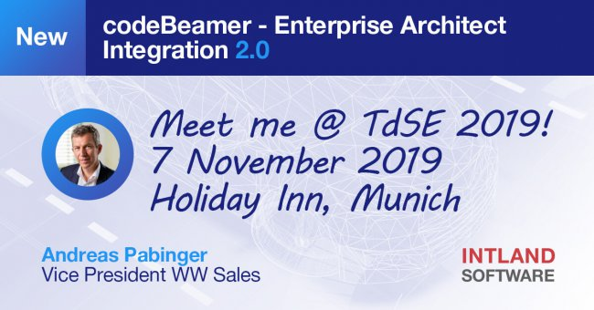 Visit Intland @ TdSE and explore our Enterprise Architect integration 2.0!