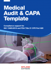 Medical-Audit-CAPA-Template-Intland-Software-168x238 Experts Talk series on MedTech delivery