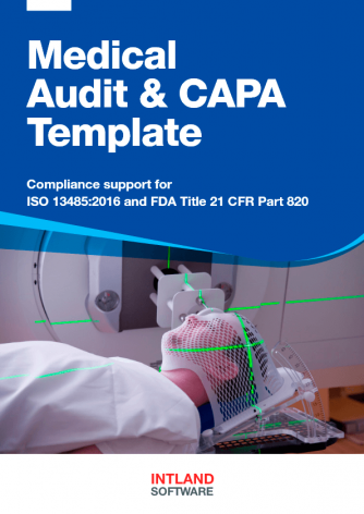 Medical-Audit-CAPA-Template-Intland-Software-334x472 Templates