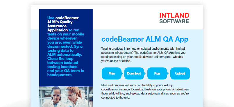 offline-testing What is new in codeBeamer ALM 10.0?