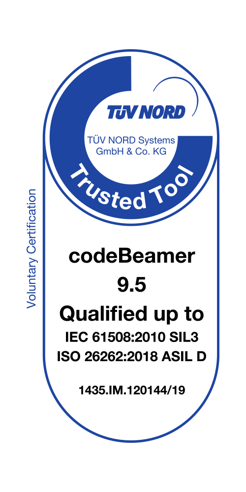 tuv-nord-95 codeBeamer ALM 9.5 Receives TÜV 'Trusted Tool' Certification news