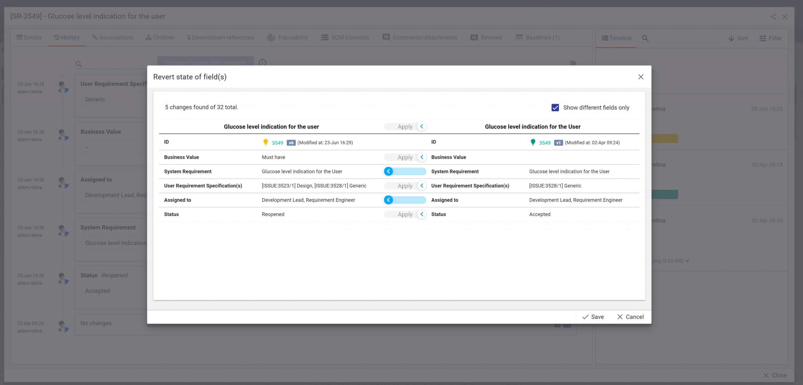 enhanced_work_item_history-scaled Intland Retina 3.0 is released!