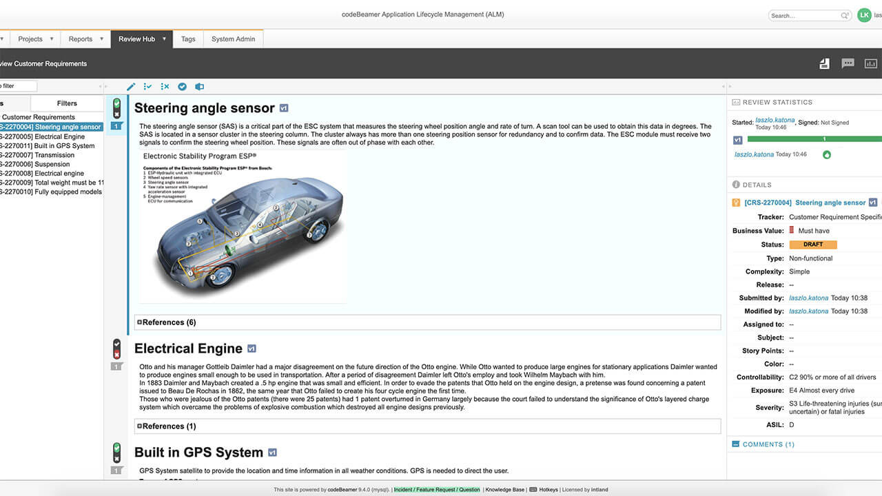 AUTO-Template-Review-optimized ALM for Automotive Embedded Systems Development