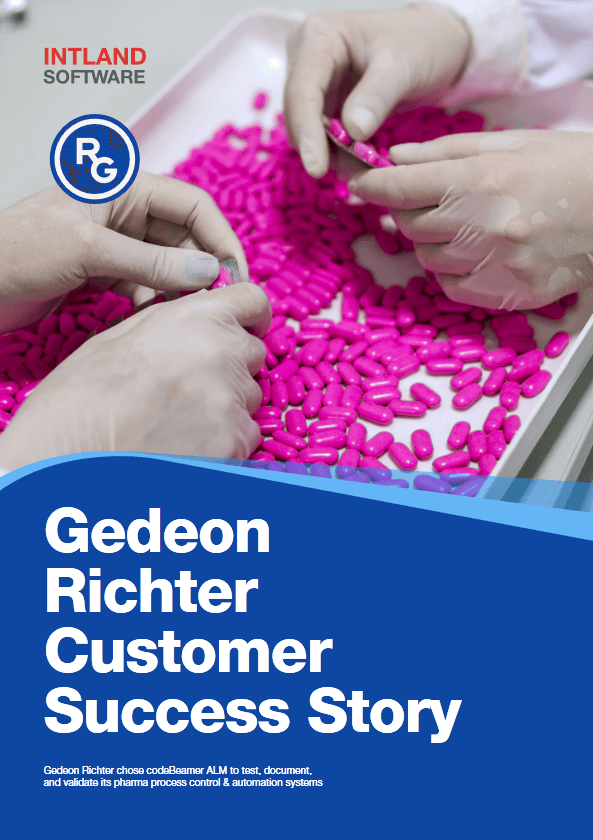 richter-gedeon-customer-success-story-593-840 codebeamer X for Pharma Project Validation & Quality Risk Management
